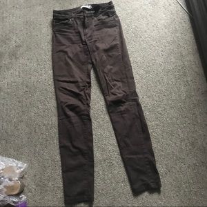 Good condition H&M brown jeans!